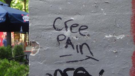 """cree pain"""